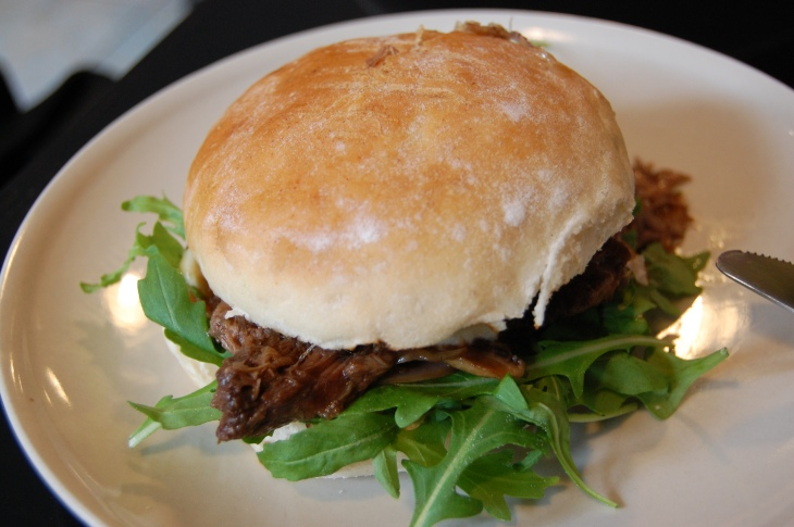 Braised Beef Burger