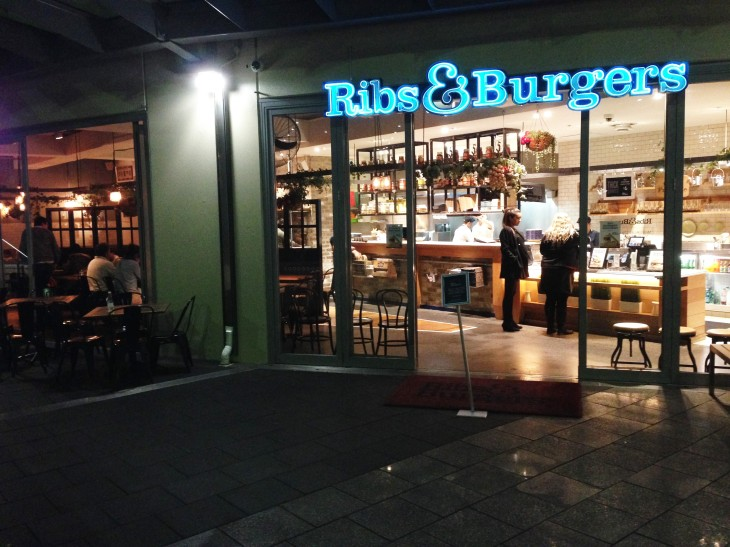 ribs and burgers outside shot (2)