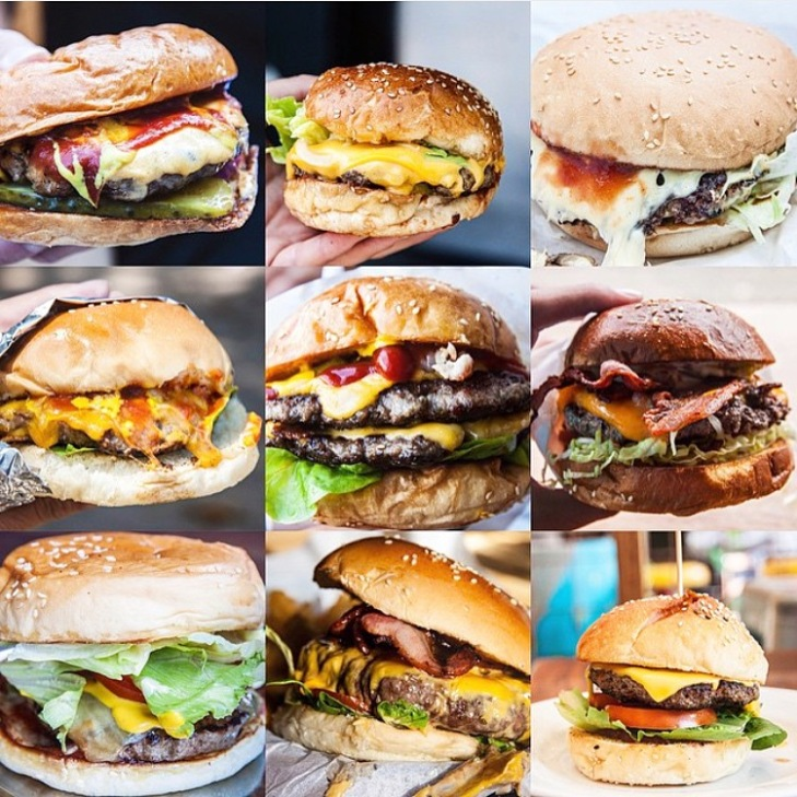 Last years round-up, minus one sneaked in 'Dude Food Man' burg